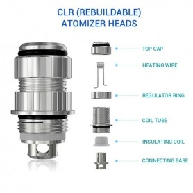 Joyetech Ego One Clr Atomizer Head 1,0ohm 5 Pezzi