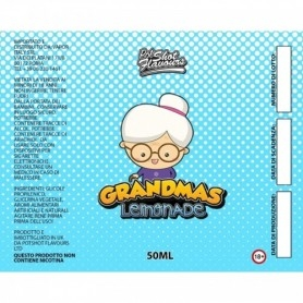 Pot Shot Flavour Grandmas Lemonade 50 ml Mix