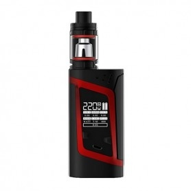 Smok Alien Box Mod Kit Tc 220w Con Tfv8 Baby Black/Red