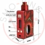 Hcigar Vt Inbox Squonker Red Solo Box 75watt Dna Evolv