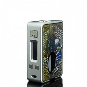 Hcigar Vt Inbox Squonker Silver Solo Box 75watt Dna Evolv