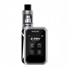 Smok Kit Gpriv 220w Touch Screen Tc Mod Black Silver