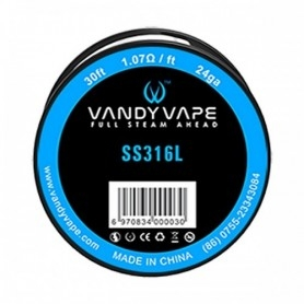 Vandy Vape SS316L Wire 24ga 10ml