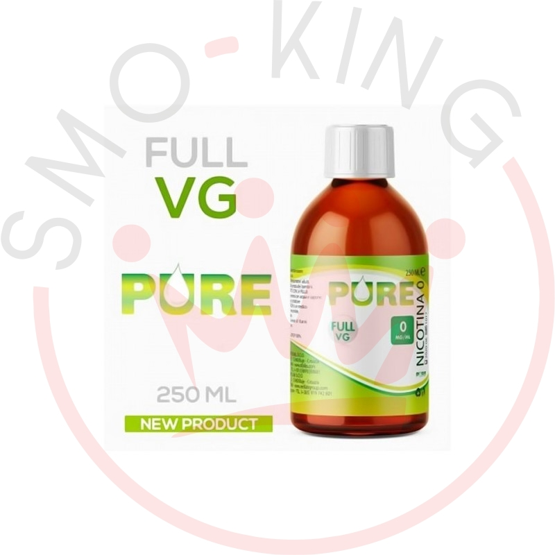 Pure Base Full Vg 0 Mg Pure Ribilio 250ml