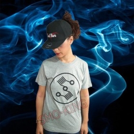 Tshirt Vaping Grey S
