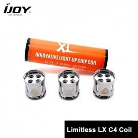 Ijoy XL C4 Light up Chip Coil 0,15 3pcs