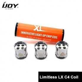 Ijoy XL C4 Light up Chip Coil 0,15 3PZ