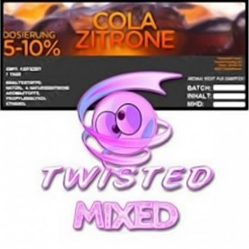Twisted Cola, Zitrone Aroma 10ml