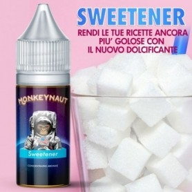 Monkeynaut Sweetener Dolcificante Aroma 10ml