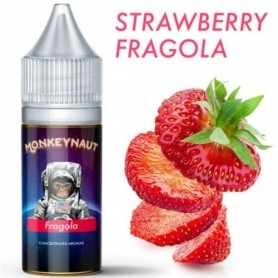 Monkeynaut Strawberry Flavour 10ml