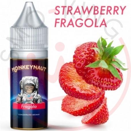 Monkeynaut Strawberry Flavour 10ml