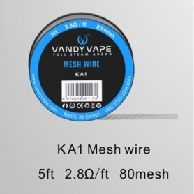 Vandy Vape Mesh Wire Ka1 2.8 ohm 1,50 ml