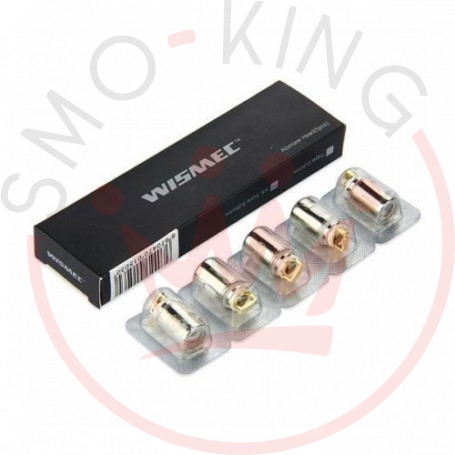 Wismec Head Coil Per Reux Mini/amor Mini Ns Triple 0.25ohm - 5 Pz