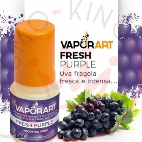 Vaporart Fresh Purple Liquido Pronto 10ml 0 Mg