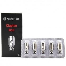 Kangertech Clapton Coil Resistenze Blister 0,5ohm 5 Pezzi