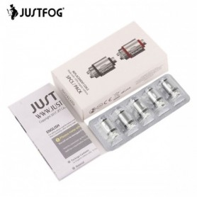 Justfog P16a Coil 1.6 Ohm Resistance Replacement 5 Pieces
