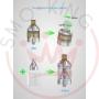 Vandy Vape Berserk Atomizer Mtl Rta 24mm 2ml 4.5 ml silver