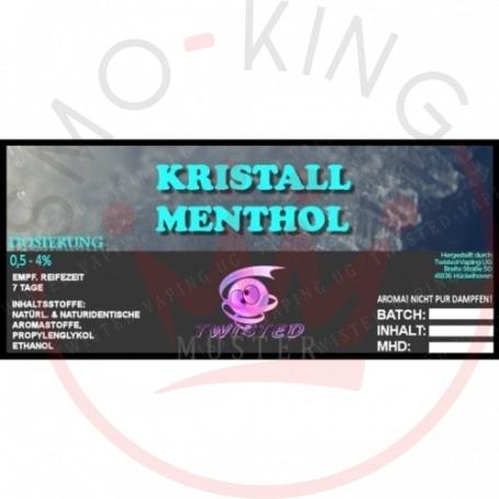 Twisted KRISTALL MENTHOL Aroma 10ml