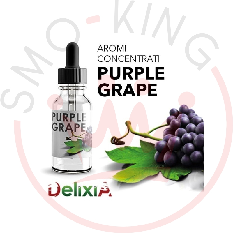 DELIXIA Purple Grape Flavour 10ml