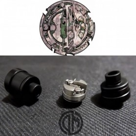 Divine Mods Kira Rda Bf Atomizer 22mm Black