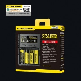 Nitecore Caricabatterie SC4 Superb Charger