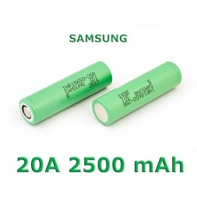 Samsung Battery 25R 18650 2500mah 20A