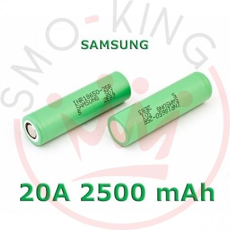 SAMSUNG Battery 25r 18650 2500mah 20a