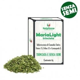 Italyhemp Marialight Tascabile 6g Trinciata Senza Semi Cnapa Sativa