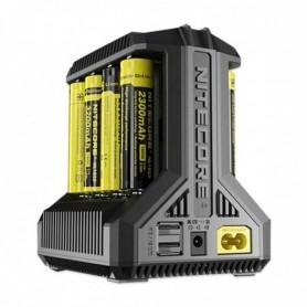 Nitecore I8 Intellicharger Multi-slot 5v Charger Smart Usb Li-ion / Imr / Ni-mh