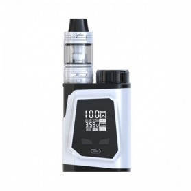 Ijoy Head, 100w Complete Kit With Captain Mini Subohm Silver Tpd Edition