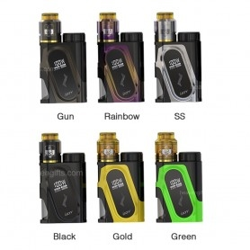 Ijoy Capo 100W 20700 Kit Bottom Feeder Black
