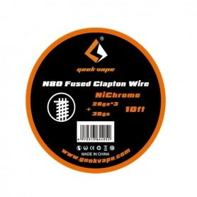 Geekvape N80 Fused Clapton Wire Nichrome 28ga*3+36ga 3mt