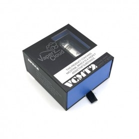Vaperz Cloud Atomizer VCMT 2 25mm Silver