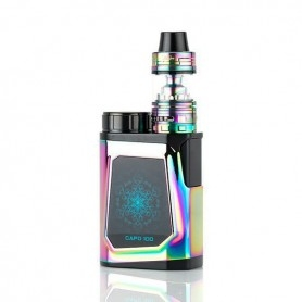 Ijoy Head, 100w Complete Kit With Captain Mini Subohm Raimbow Tpd Edition