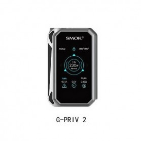 Smok Gpriv 2 230w Touch Screen Tc solo box Silver/Black