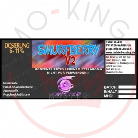 Twisted Smurfberry V2 Aroma 10ml