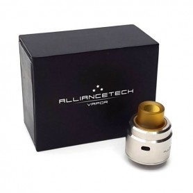 Alliance Tech, The Flave Atomizer Rda Single Coil, 24mm Stainless Steel