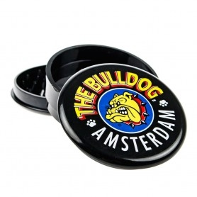 Grinder The Bulldog plastic Black 3 parts