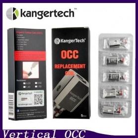 Kangertech Subtank Vertical OCC 0,5 Ohm 5 Pezzi