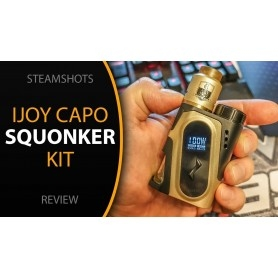 Ijoy Capo Squonker Kit Completo Con Captain Gold