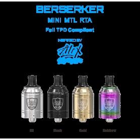 Vandy Vape Berserker Mini MTL RTA Atomizer 2ml Silver