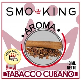 Smoking Cuban Cigar Svapo Aroma 10ml