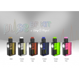 Vandy Vape Pulse BF Box Squonker Kit Frosted Blu