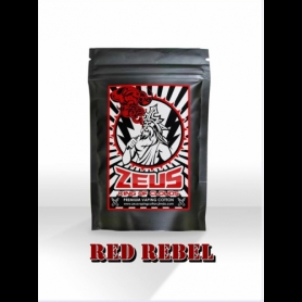 King of Clouds Zeus Vaping Cotton Red Rebel Large