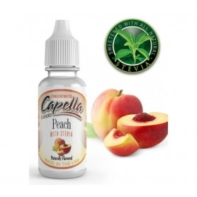 Capella Peach W/Steva Juice 13 ml