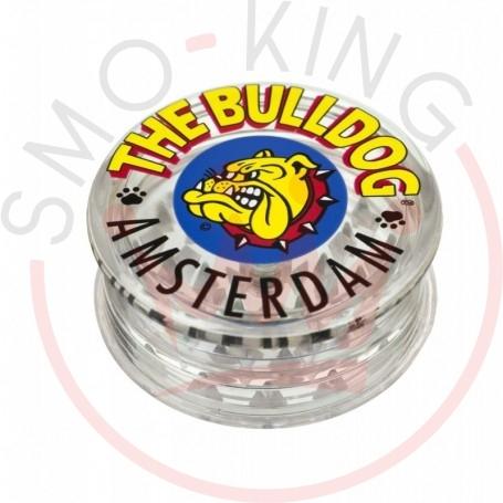 Grinder The Bulldog Plastic Transparent 3 parts
