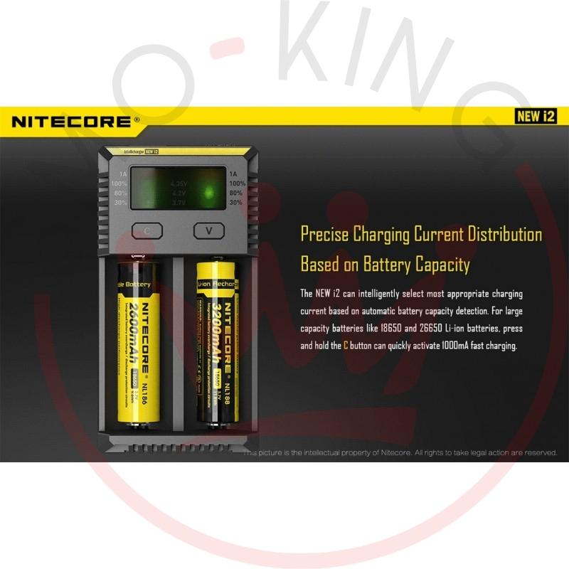 Nitecore Intellicharger New i2 Caricabatterie