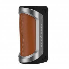 Geekvape Aegis Box Mod 100watt Only Body Silver Brown