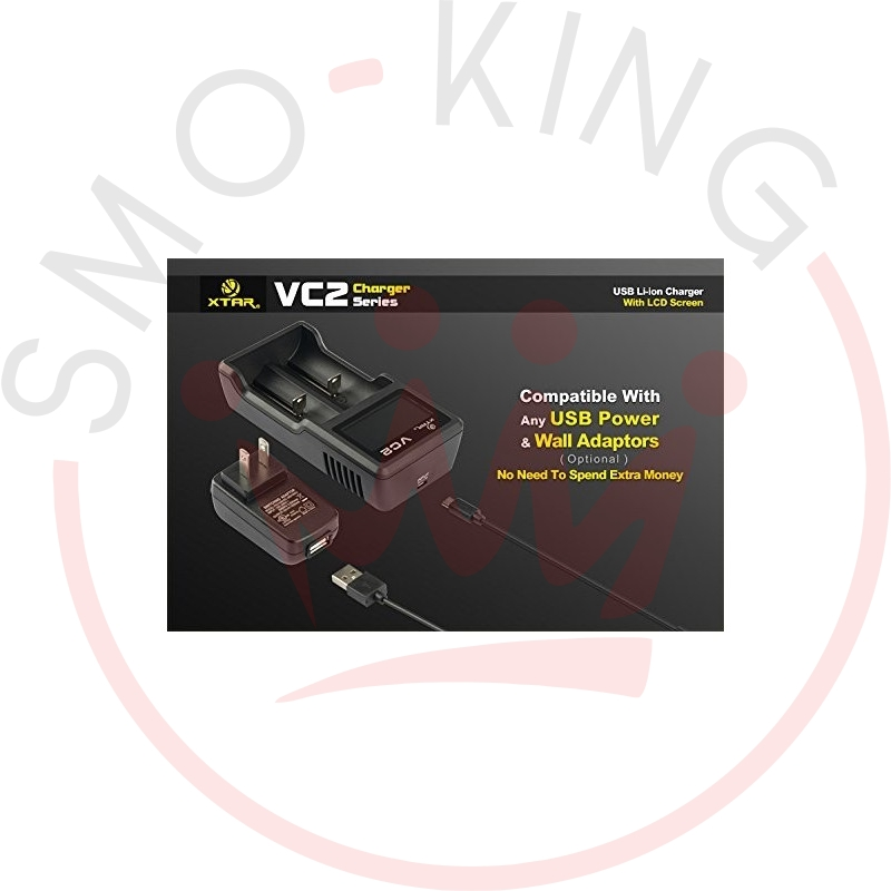 Xtar VC2 Caricabatterie LCD Charger