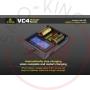 Xtar VC4 LCD Charger